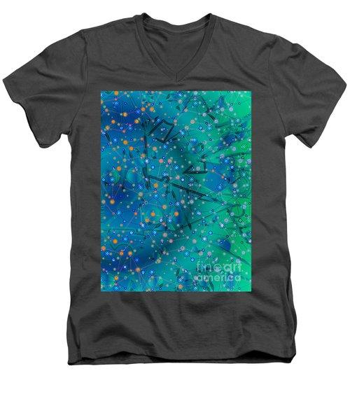 The Wild Blueberry Men's V-Neck T-Shirt