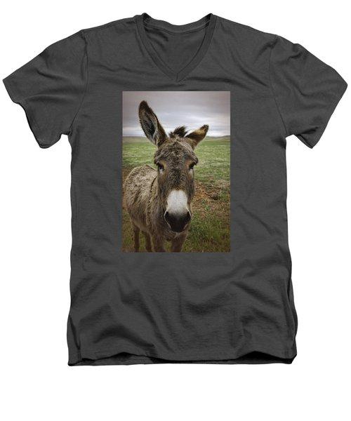 Wild Burro Men's V-Neck T-Shirt