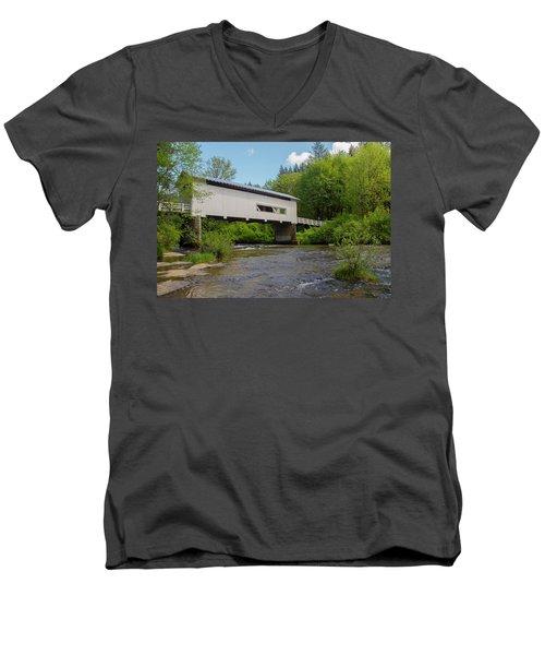 Wild Cat Bridge No. 2 Men's V-Neck T-Shirt