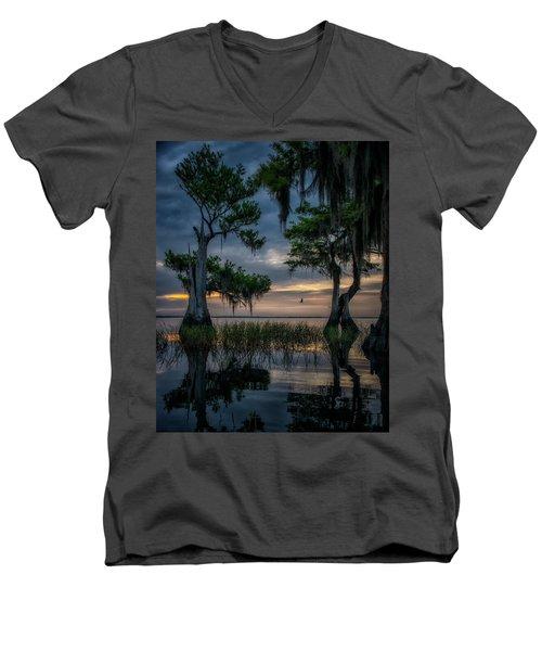Wild Florida Men's V-Neck T-Shirt