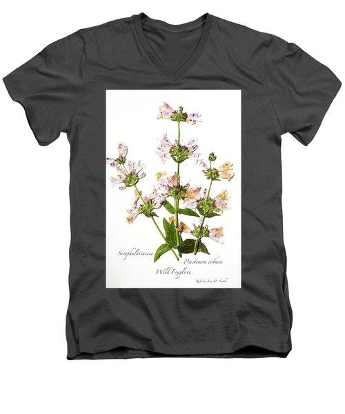 Wild Foxglove Men's V-Neck T-Shirt