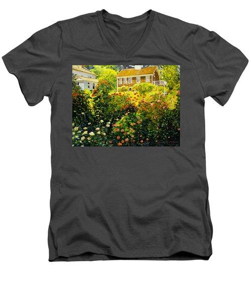 Wild Rose Country Men's V-Neck T-Shirt