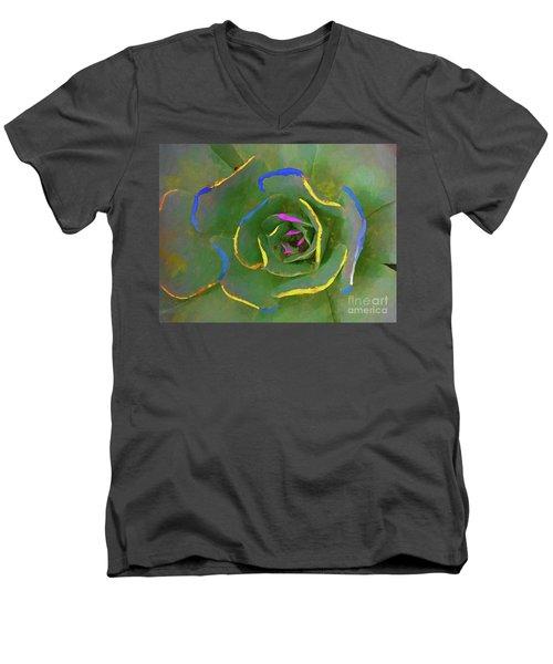 Wild Succulent Men's V-Neck T-Shirt