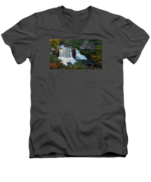 Wild West Virginia Men's V-Neck T-Shirt