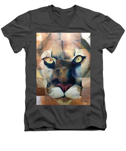 Wildcat Men's V-Neck T-Shirt