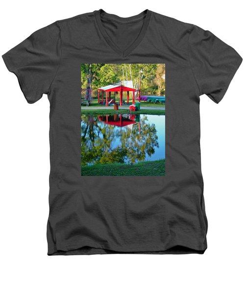 Wilderness Canoe Men's V-Neck T-Shirt