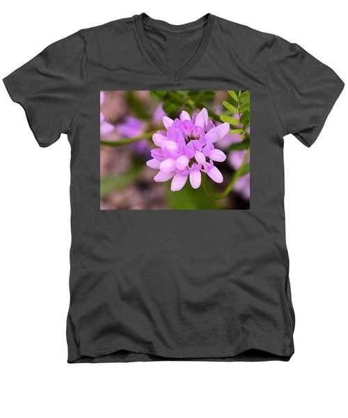 Wildflower Or Weed Men's V-Neck T-Shirt by Kathy Eickenberg
