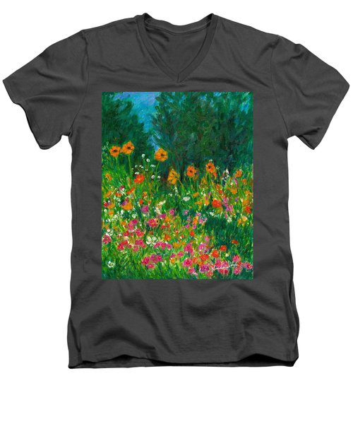Wildflower Rush Men's V-Neck T-Shirt
