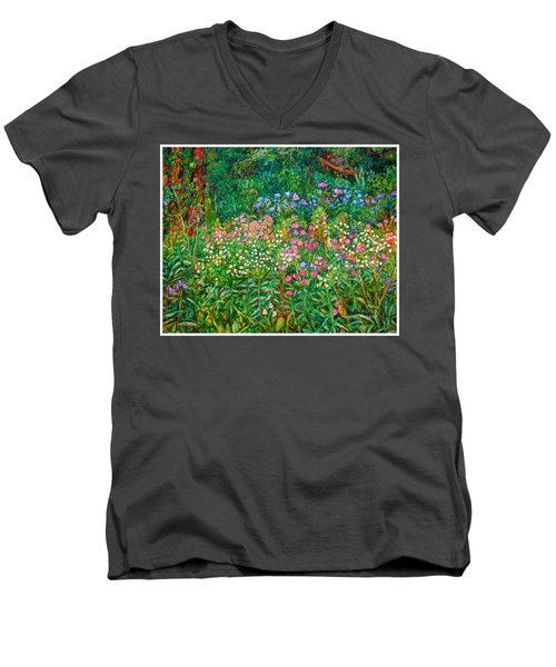 Wildflowers Near Fancy Gap Men's V-Neck T-Shirt
