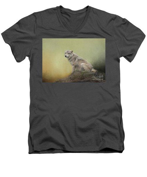 Wildlife Alaska Men's V-Neck T-Shirt