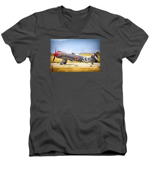 Will Whiteside And Steadfast Men's V-Neck T-Shirt
