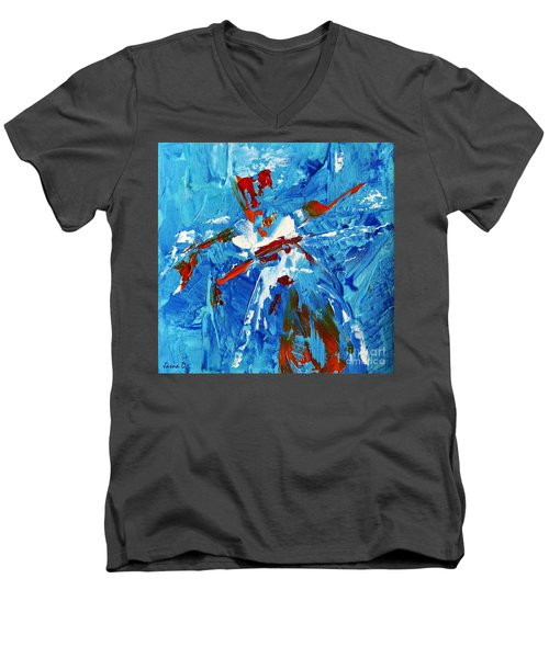 Will You Dance With Me? Men's V-Neck T-Shirt by Jasna Dragun