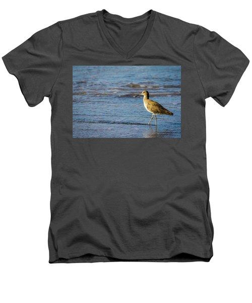 Willet 2 Men's V-Neck T-Shirt