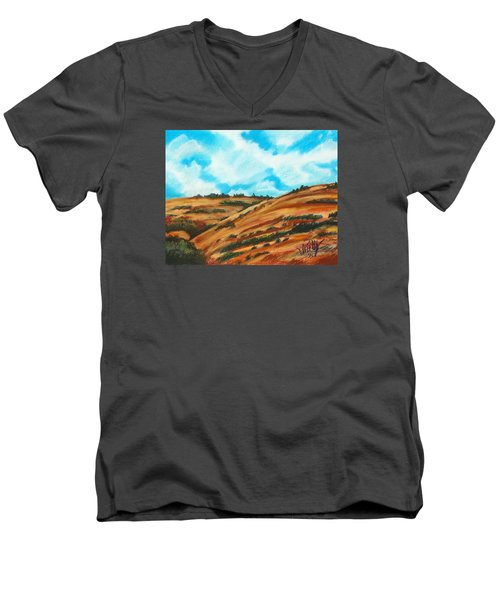 Will's Hills Men's V-Neck T-Shirt