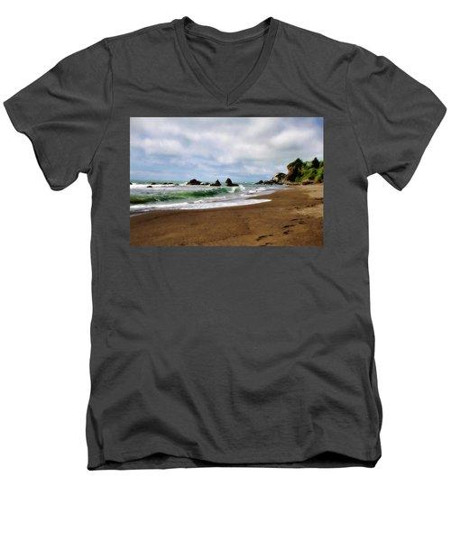 Wilson Creek Beach Men's V-Neck T-Shirt