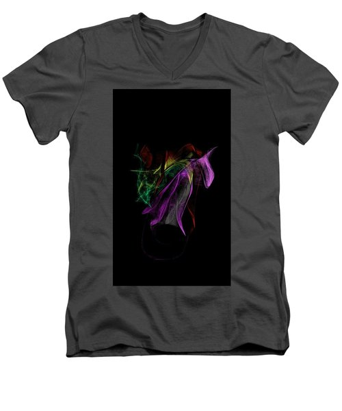 Wilted Tulips Men's V-Neck T-Shirt