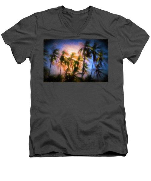 Wind And Palms Men's V-Neck T-Shirt