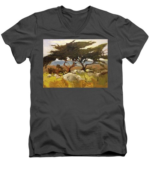 Wind Blown Men's V-Neck T-Shirt