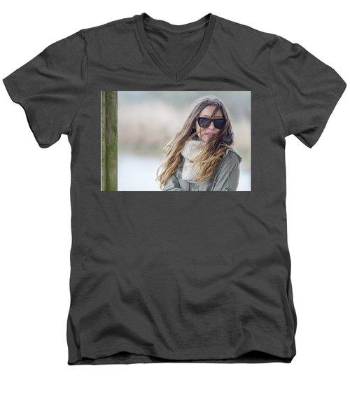 Wind.. Men's V-Neck T-Shirt