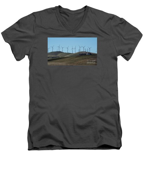 Wind Farm Men's V-Neck T-Shirt
