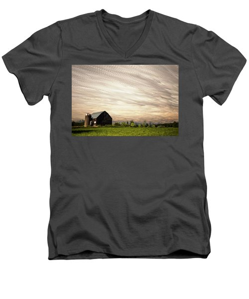 Wind Farm Men's V-Neck T-Shirt