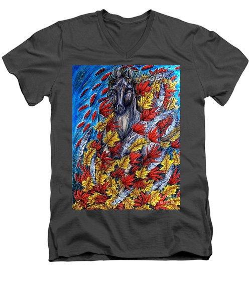 Wind Spirit Men's V-Neck T-Shirt