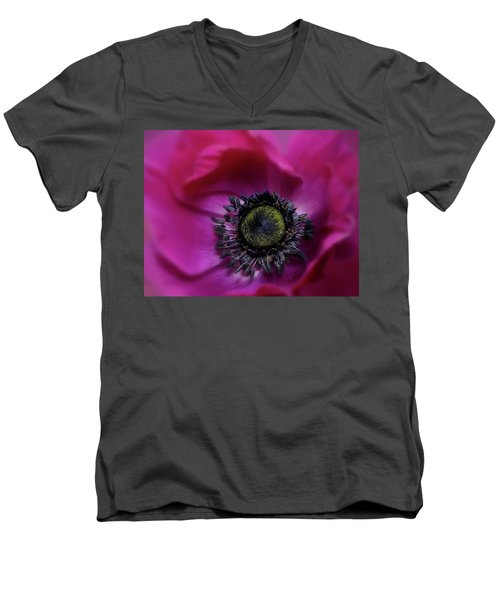 Windflower Men's V-Neck T-Shirt