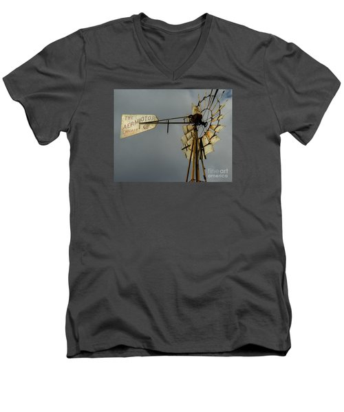 Windmill 1 Men's V-Neck T-Shirt