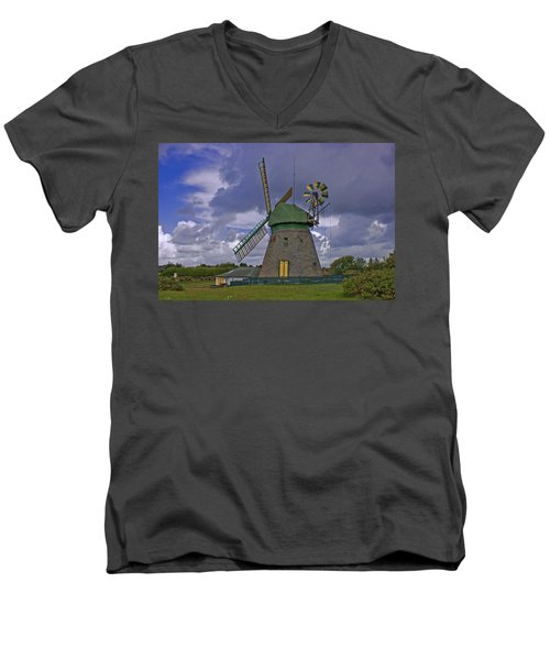 Windmill Amrum Germany Men's V-Neck T-Shirt