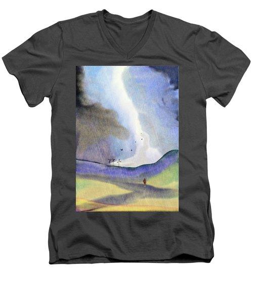 Windmills Of The Mind Men's V-Neck T-Shirt