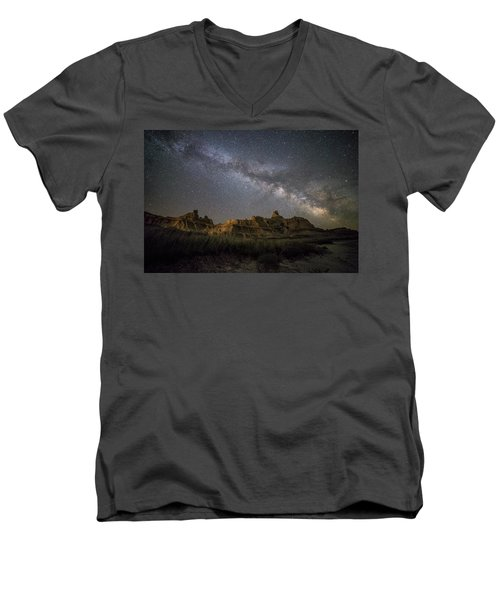 Men's V-Neck T-Shirt featuring the photograph Window by Aaron J Groen