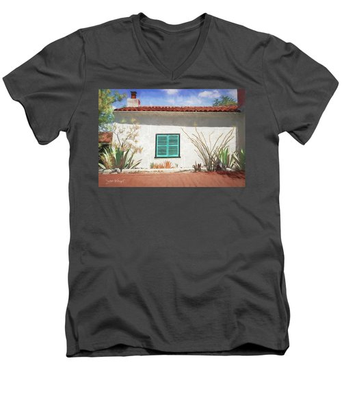 Window In Oracle Men's V-Neck T-Shirt