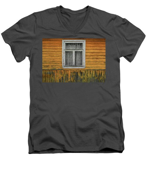Window In The Old House Men's V-Neck T-Shirt