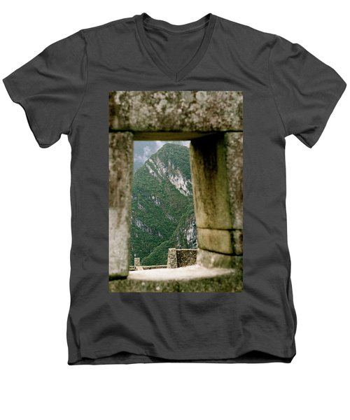 Window To The Gifts Of The Pachamama Men's V-Neck T-Shirt