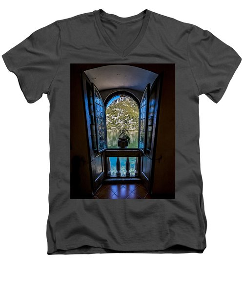 Window To The Lake Men's V-Neck T-Shirt