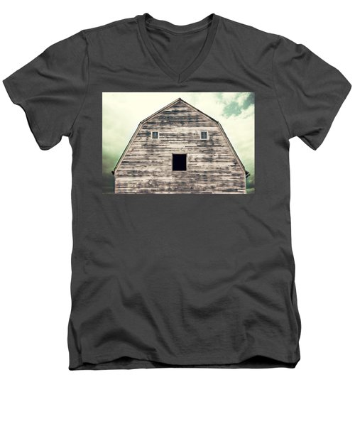 Men's V-Neck T-Shirt featuring the photograph Window To The Soul by Julie Hamilton