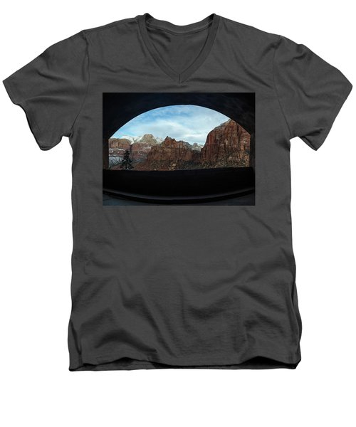 Window To Zion Men's V-Neck T-Shirt