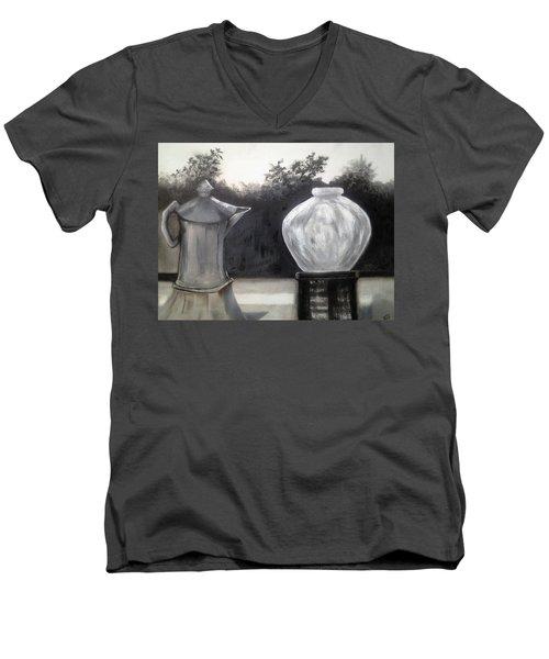 Window View Men's V-Neck T-Shirt