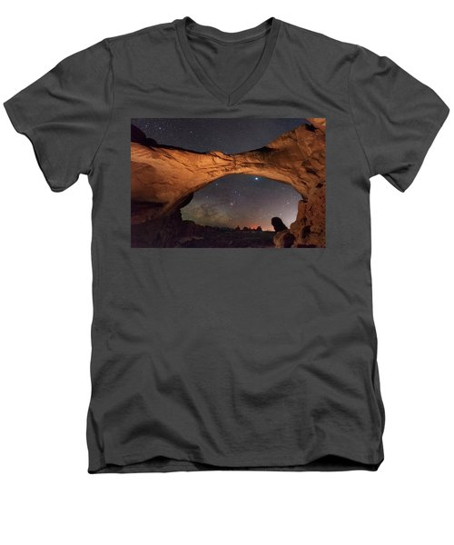 Windows To Heaven Men's V-Neck T-Shirt