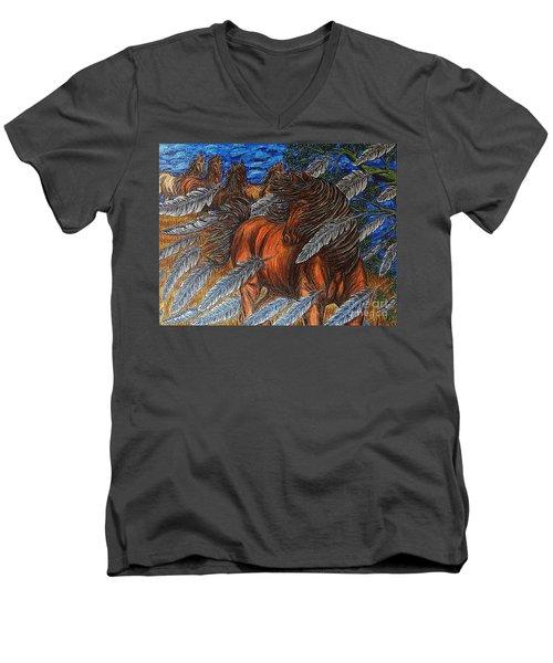 Winds Of Change Men's V-Neck T-Shirt