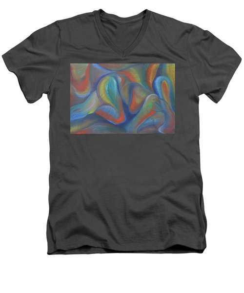Winds Of Change Prevail Men's V-Neck T-Shirt