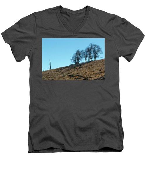Windswept Trees - December 7 2016 Men's V-Neck T-Shirt