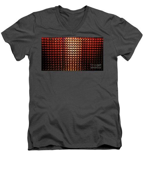 Wine Cellar Men's V-Neck T-Shirt by M G Whittingham