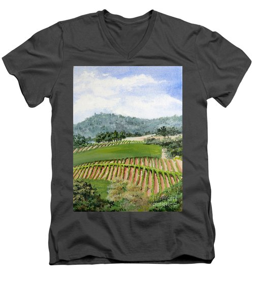 Wine Country Men's V-Neck T-Shirt