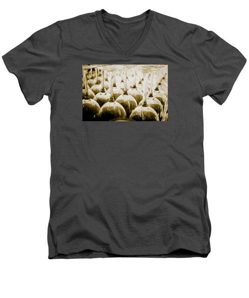 Wine Glasses Men's V-Neck T-Shirt