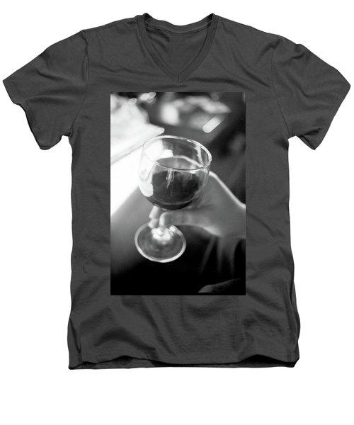 Wine In Hand Men's V-Neck T-Shirt