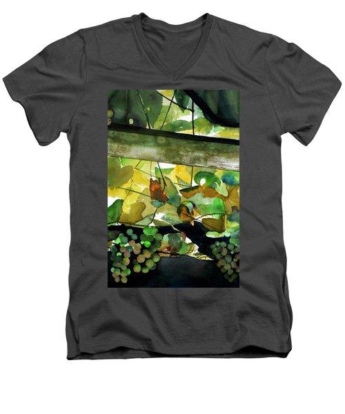 Wine In Progress Men's V-Neck T-Shirt