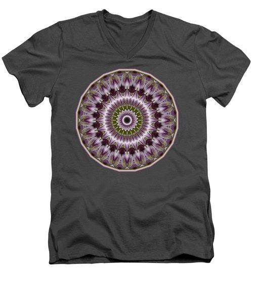 Wine Roses And Thorns Men's V-Neck T-Shirt