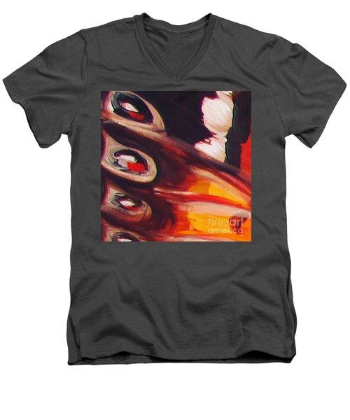 Wing Eyes Men's V-Neck T-Shirt