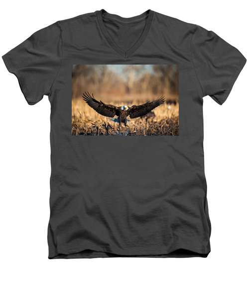 Wing Span Men's V-Neck T-Shirt